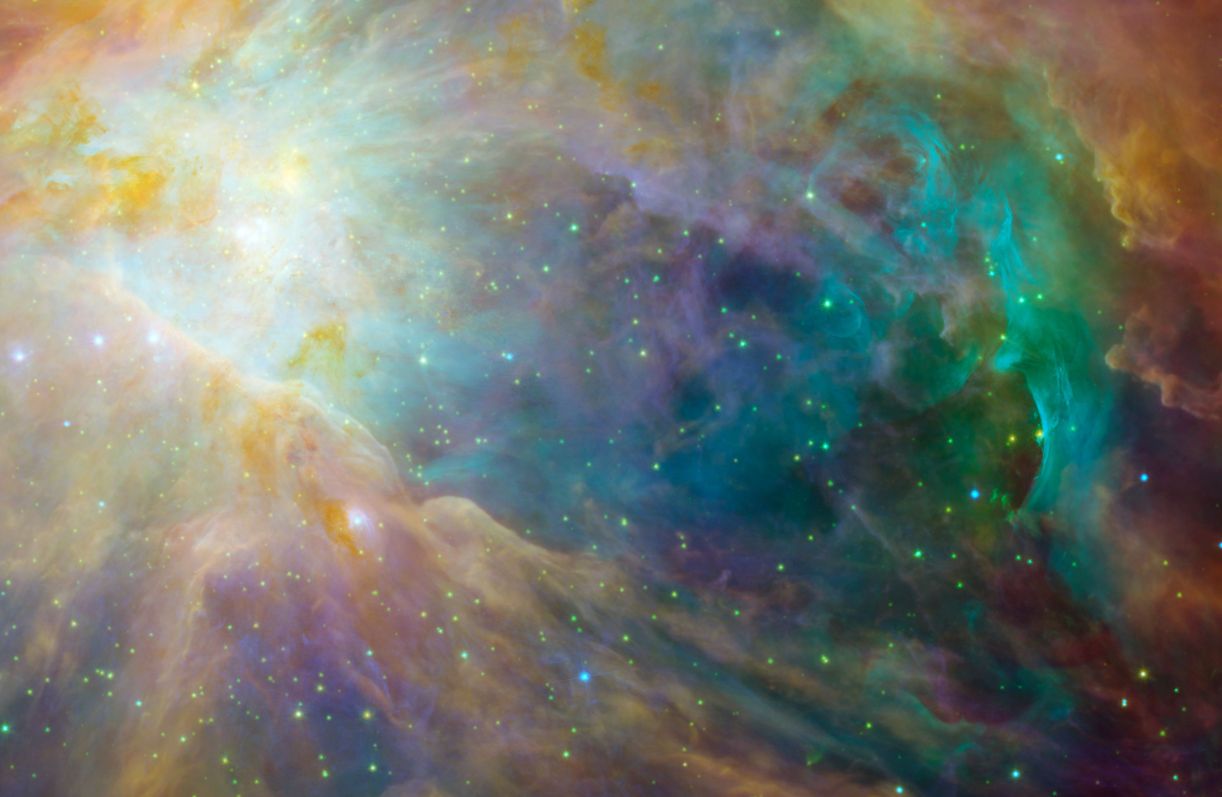 SPACE ORION NEBULA SCIENCE LARGE WALL ART PRINT POSTER PICTURE LF2340