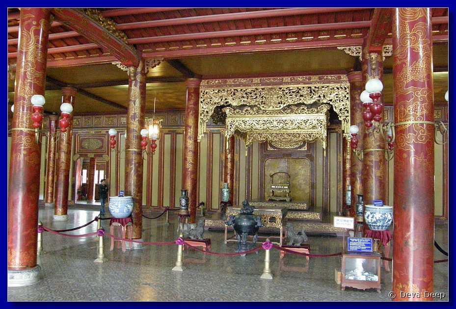 Hue Forbidden Purple City Thai Hoa palace-086