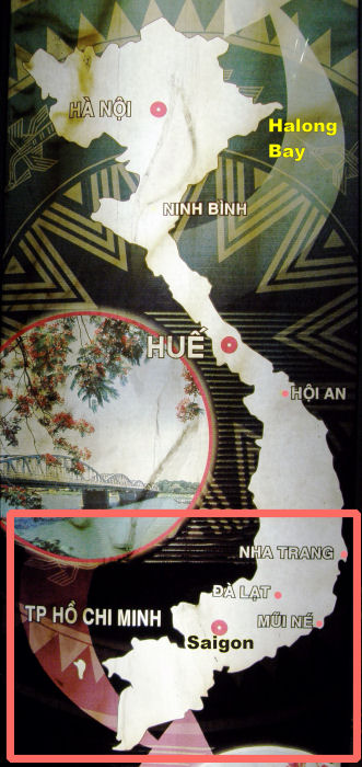 5 map of components south vietnam a